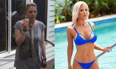 Giảm 25 kg, bà mẹ U50 trở thành mẫu bikini nóng bỏng