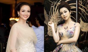 Jennifer Phạm mặc sexy lấn át hoa hậu Diễm Hương