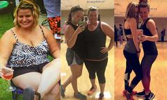 Mẹ và con gái cùng giảm 84 kg chỉ nhờ một điệu nhảy