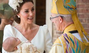 Công nương Kate tiết lộ tính cách của con trai Louis