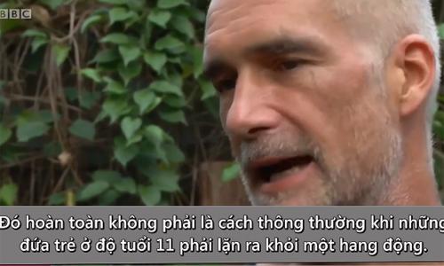 Thợ lặn quốc tế khâm phục tinh thần của đội bóng nhí Thái Lan