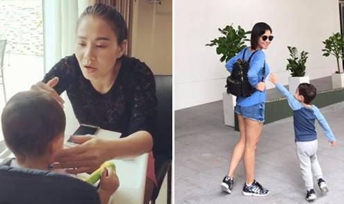 Thu Minh: 'Ngày nào con không ăn là tôi bị stress'