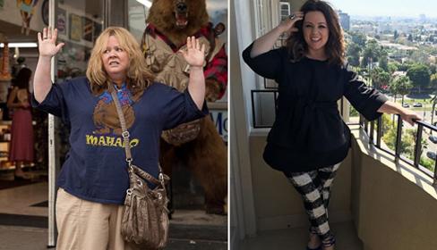 Thực đơn giúp cô đào mũm mĩm Melissa McCarthy giảm 35 kg