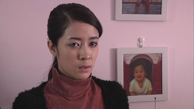Thùy Dương trong phim Hạnh phúc không ở cuối con đường.