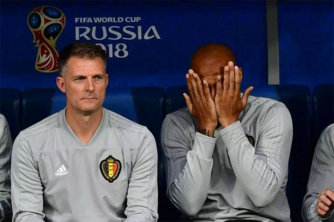 Henry -người Pháp duy nhất chống lại nước Pháp, trợ lý huấn luyện viên đội tuyển Bỉ là áp lực dành cho anh trước trận đấu.