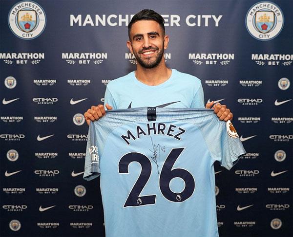 Pep Guardiola muốn có Mahrez từ tháng một năm nay nhưng phải chờ đến kỳ chuyển nhượng mùa hè để hoàn tất hợp đồng.