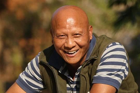 Nam diễn viên Kế Xuân Hoa.