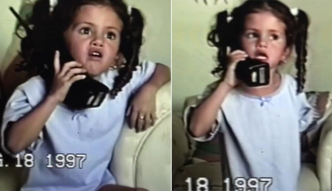 Selena 5 tuổi lý sự ghê gớm về chuyện cô giáo bắt làm lại bài.