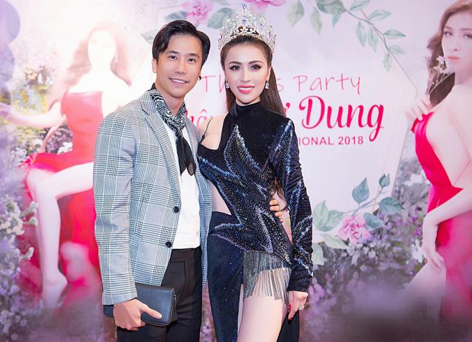 Biên đạo Lê Việt có mối quan hệ thân thiết với người đẹp 23 tuổi.