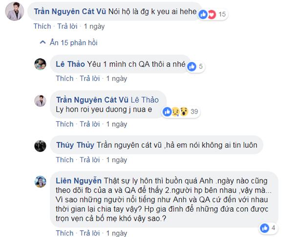 Tim xác nhận đã ly hôn Trương Quỳnh Anh.