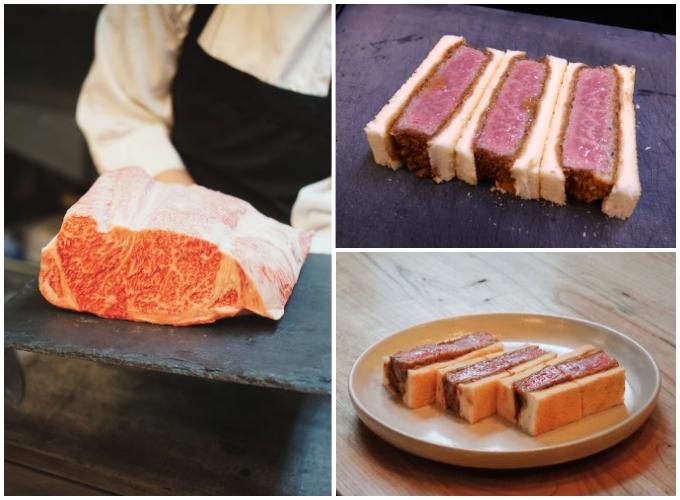 Sandwich bò vân đá - chất lượng vượt xa khuôn khổ của thức ăn nhanh