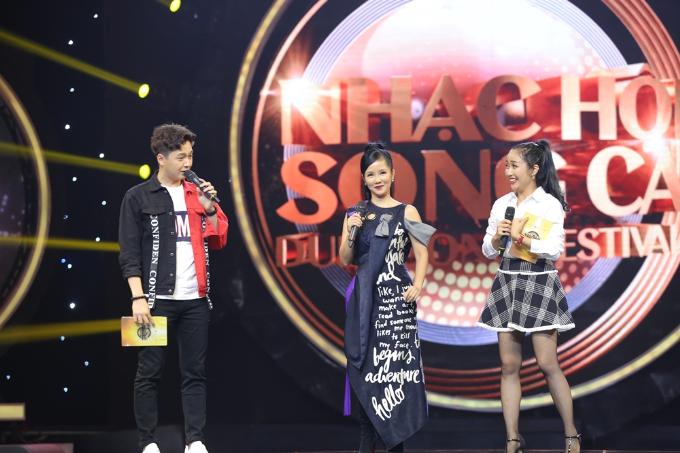 Hồng Nhung rạng rỡ tham gia Nhạc hội song ca mùa 2 sau ly hôn - 11