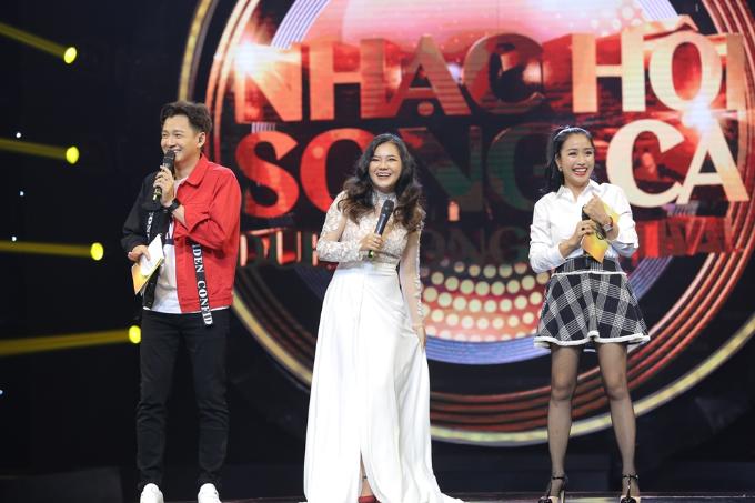 Hồng Nhung rạng rỡ tham gia Nhạc hội song ca mùa 2 sau ly hôn - 8