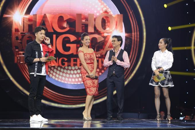 Hồng Nhung rạng rỡ tham gia Nhạc hội song ca mùa 2 sau ly hôn - 4