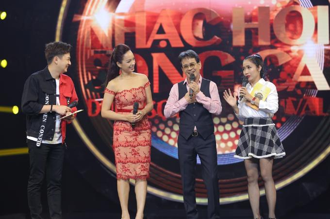 Hồng Nhung rạng rỡ tham gia Nhạc hội song ca mùa 2 sau ly hôn - 5