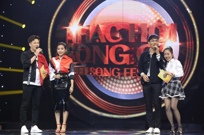 Hồng Nhung rạng rỡ tham gia Nhạc hội song ca mùa 2 sau ly hôn - 2