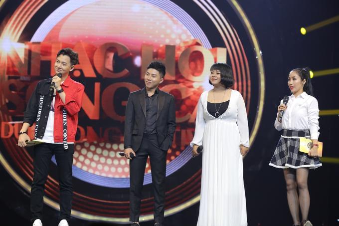 Hồng Nhung rạng rỡ tham gia Nhạc hội song ca mùa 2 sau ly hôn - 7