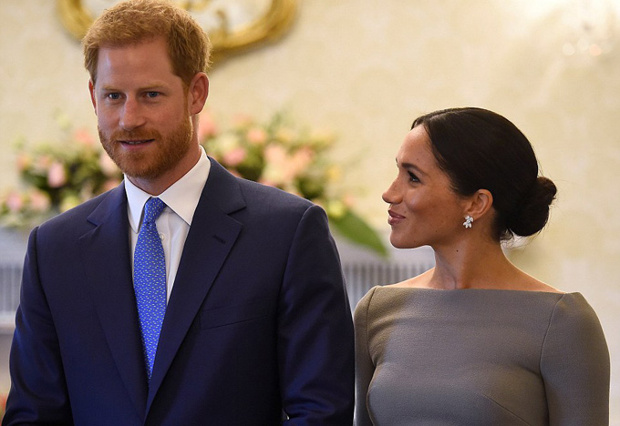 The affectionate Duchess gazed at her new husband lovingly during the second day of engagements in Ireland