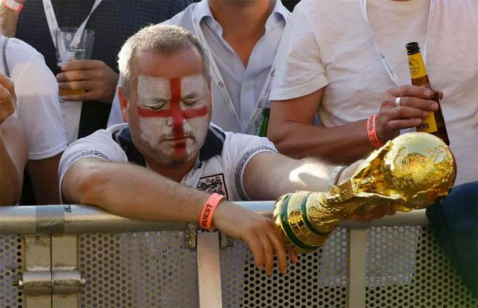 Giấc mơ vô địch World Cup một lần nữa khép lại với người Anh.