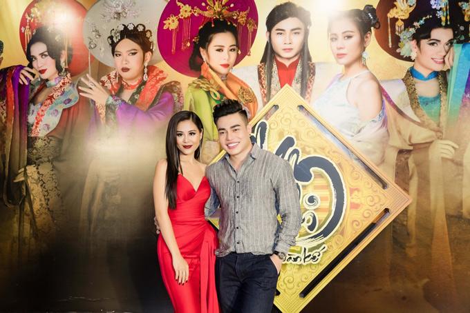 Diễn viên Lê Dương Bảo Lâm ủng hộ Nam Thư thực hiện dự án hài cổ trang phát hành trên Youtube.