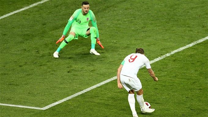 Harry Kane lỡ cơ hội nâng tỷ số lên 2-0 cho tuyển Anh. Ảnh: FIFA.