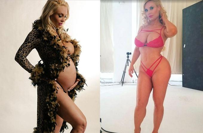 5 tháng sau khi sinh con gái với rapper Ice T, người mẫu Coco Austin trở lại bốc lửa trong buổi chụp hình quảng cáo đồ bơi và nội y do cô tự thiết kế.