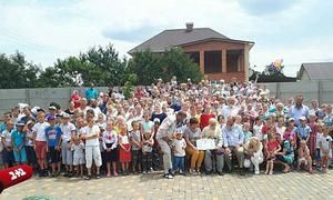 Cụ ông Ukraine có gia đình đông nhất thế giới với hơn 300 con cháu