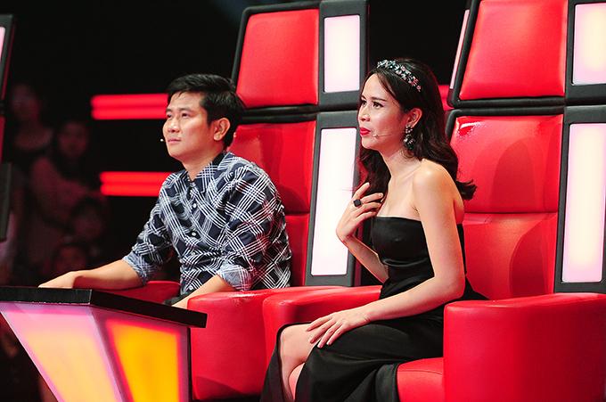 Vợ chồng Hồ Hoài Anh - Lưu Hương Giang ngồi ghế nóng The Voice Kids.