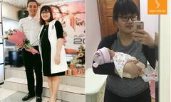 Mẹ bỉm sữa giảm 30kg không đụng 'dao kéo' dù chồng là bác sĩ phẫu thuật thẩm mỹ
