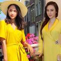 Sao Việt chuộng trang phục mang sắc màu của nắng