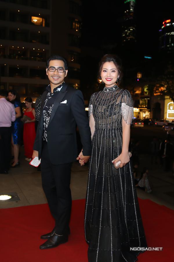 Tối 13/7, vợ chồng Ngọc Lan - Thanh Bình đã hội ngộ dàn sao tại đêm trao giải cuộc thi Phim ngắn 321 Acticon tổ chức tại TP HCM.