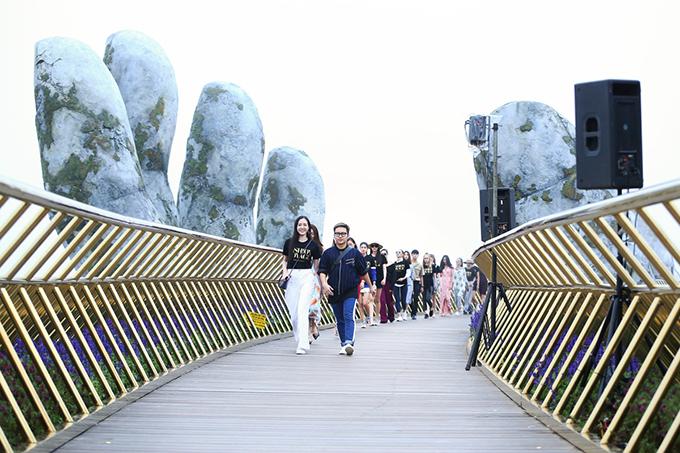 Chương trình Dạo bước trên mây sẽ được tổ chức vào chiều 14/7 tại Bà Nà, Đà Nẵng.