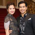 Vợ chồng Ngọc Lan - Thanh Bình tay trong tay đi sự kiện