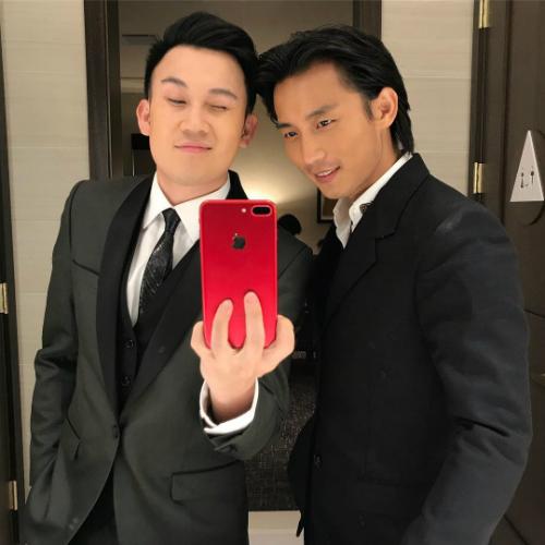 Dương Triệu Vũ hội ngộ cùng ca sĩ Đan Nguyên.