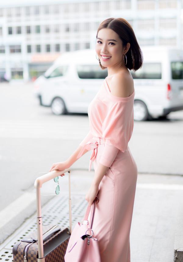 Ở tuổi 27, Á khôi Trang sức 2009 vẫn đi về lẻ bóng. Cô rất kín tiếng về chuyện tình cảm.