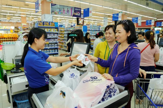 Tích tem đổi quà là quyền lợi cộng thêm đáng kể cho khách hàng thân thiết của Co.opmart.