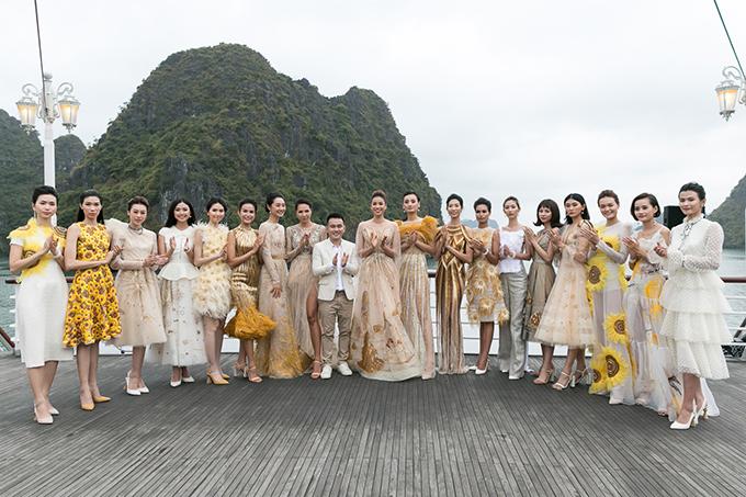 Chương trình quy tụ các hoa hậu, á hậu và người mẫu nổi tiếng.