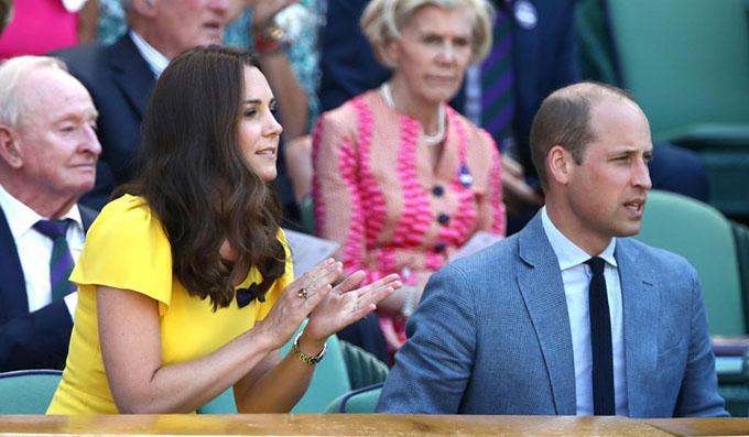 Kể từ khi kết hôn vào năm 2011, hầu như năm nào Kate cũng cùng chồng đến xem các trận thi đấu ở Wimbledon.