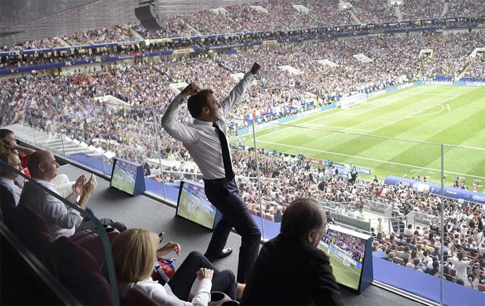 50 sắc thái của Tổng thống Pháp trong trận chung kết World Cup - 4