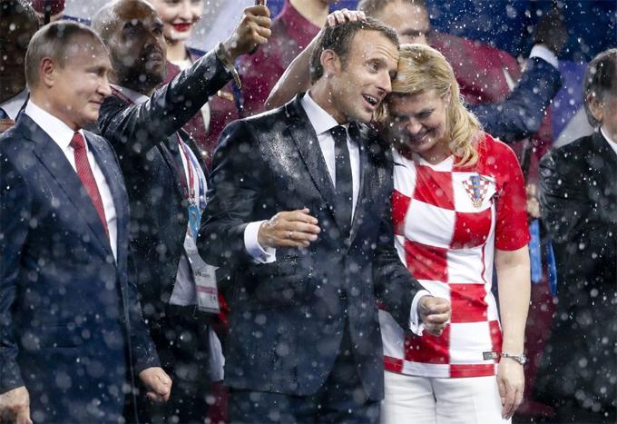 50 sắc thái của Tổng thống Pháp ở trận chung kết World Cup - 5