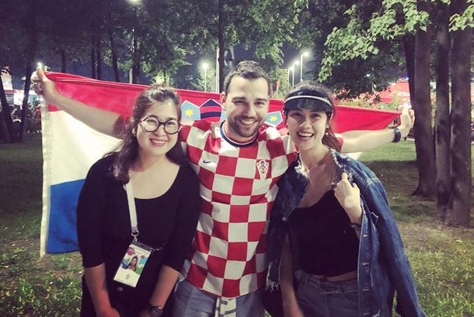 Thanh Tú, Thu Hằng sang Nga xem chung kết World Cup - 7