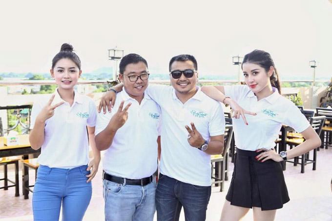Trong những ngày cuối tuần vừa qua Huyền My bay sang Myanmar để cùng đoàn phimBridge of Clouds (Cầu Mây) tham gia cine tour nhằm quảng bá cho tác phẩm điện ảnh. Á hậu cho biết, cô và êkíp đã đến giao lưu tại nhiều cụm rạp ở các thành phố như Yangon, Monywa, Mandalay.