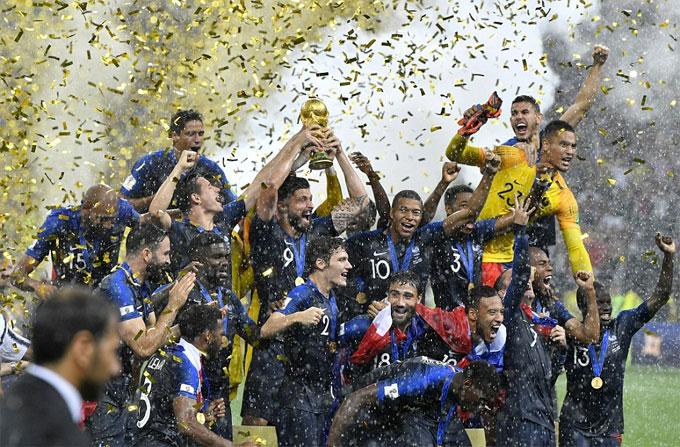 Pháp từng lỡ hẹn ngôi vô địch Euro hai năm trước nhưng tại World Cup ở Nga, không có bất ngờ nào xảy ra ở trận chung kết.