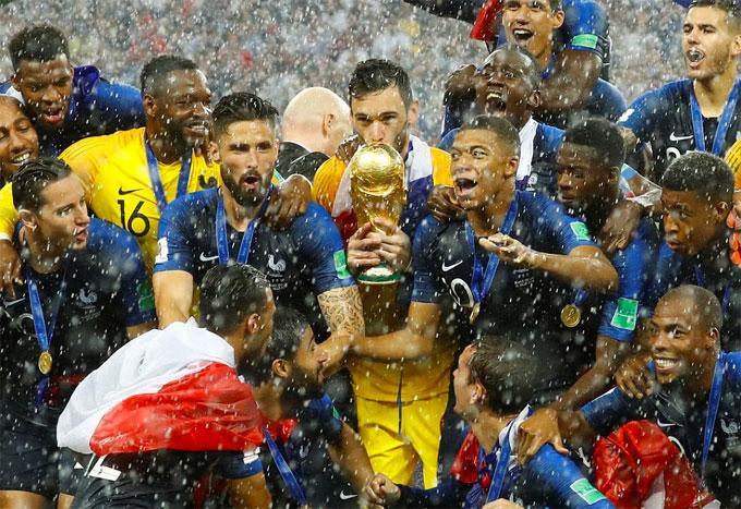Thế hệ vàng của bóng đá Pháp có thể tiếp tục thống trị bóng đá châu Âu và thế giới nhiều năm nữa.