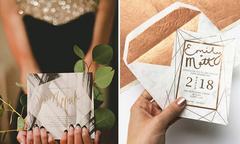4 mẫu thiệp cưới đa giác 'hot trend' dành cho mùa cưới 2018
