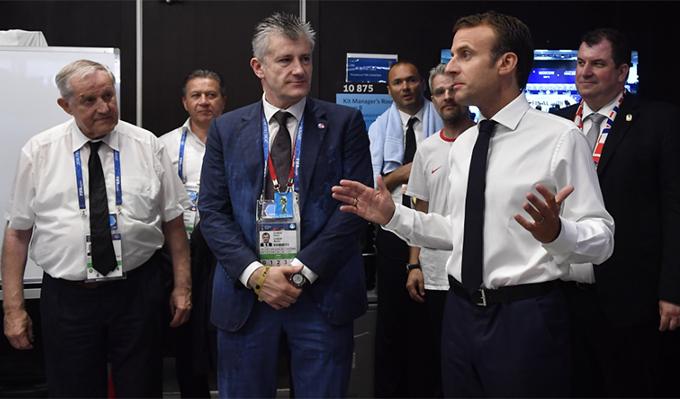 Ông Macron đánh giá cao màn trình diễn của tuyển Croatia dù họ phải nhận thất bại 2-4 trước tuyển Pháp. Nhiều thời điểm, Croatia thi đấu lấn lướt trước Pháp khiến nhà vô địch của giải gặp nhiều khó khăn.
