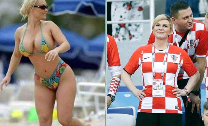 Tổng thống Croatia bị tin giả quấy rối. Ảnh: NS.