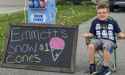 Không cho con tiền mua xe đạp, bố dạy con trai kinh doanh từ khi 6 tuổi
