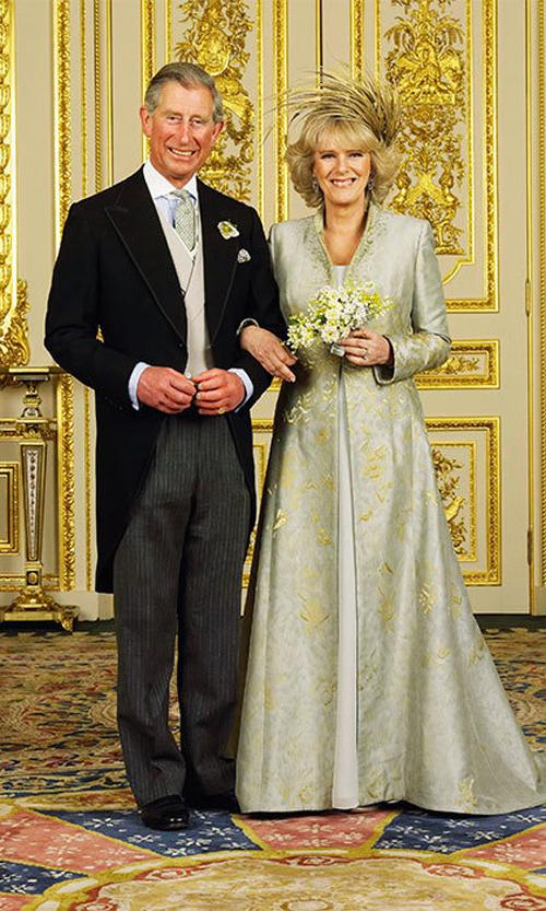 Hoàng tử Charles hạnh phúc bên mối tình đầu, bà Camilla Parker-Bowles. Ảnh: Hello