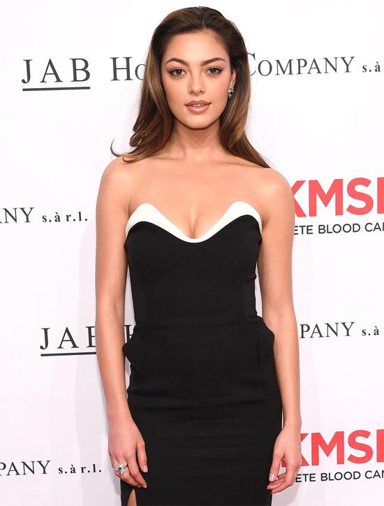 Demi-Leigh tham gia một sự kiện tại New York.